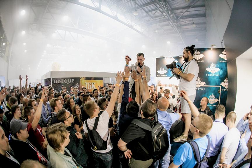 Выставка Global Vape 2017 в Москве.Развлекательная часть
